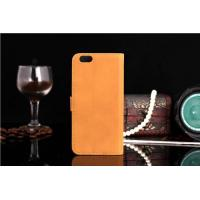 Buy cheap Classic Business Style Luxury Retro Real Genuine Leather Wallet Cell Phone Case For iPhone from wholesalers