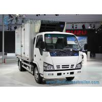 Buy cheap ISUZU 4 X 2 3 Ton Refrigerated Van Truck For Fresh Fish / Meat from wholesalers