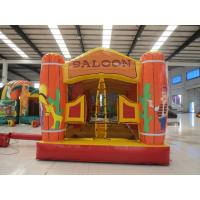 Buy cheap Kids Inflatable Bouncy Castle with Safe Net Commercial Grade Bounce House Jumpy Castle for Park from wholesalers