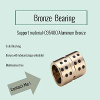 Buy cheap C95400 Aluminum Bronzes with Graphite Plugs | In Stock, Only $2.50 from wholesalers