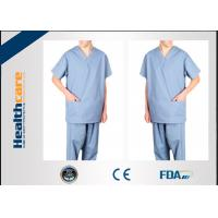 Buy cheap Anti Dust Disposable Scrub Suits Medical GarmentsBreathable Comfortable from wholesalers