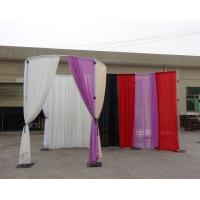 Buy cheap High Quality Pipe And Drape System Circle pattern curtain fabric decorative thermoplastic panels from wholesalers