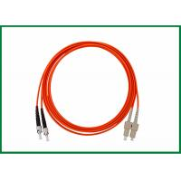 Buy cheap Multimode Fiber Patch Cord Cable LC FC ST SC Connectors Duplex Patch Cord from wholesalers