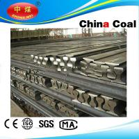 Buy cheap 71Mnk/45Mnk crane rail QU80 Steel Rail high quality low price from wholesalers