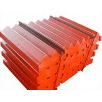 Buy cheap Jaw plate for jaw crusher spare parts from wholesalers