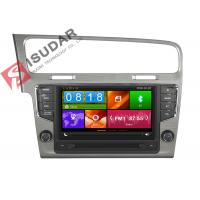 Buy cheap Mirror Link VW Golf Dvd Player , Volkswagen Touch Screen Radio Support Steering from wholesalers