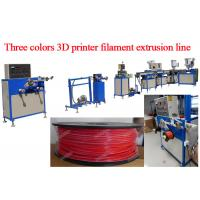Buy cheap Multi - color 3D Printer Filament Extrusion Line 1.75mm / 3.0mm from wholesalers