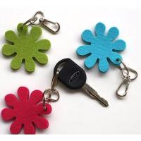 Buy cheap high quality factory price  promotional cheap felt keychain custom logo from wholesalers