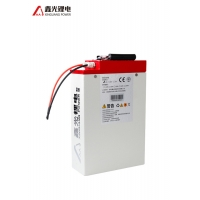 Buy cheap White Shell 48V 16AH Electric Bicycle Power Lithium Battery Pack from wholesalers