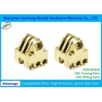 Buy cheap Mechanical CNC Brass Parts Lathe Turning Machine , Precision Brass Turned Parts from wholesalers
