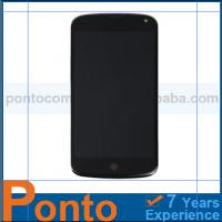 Buy cheap Original LCD Touch Screen Digitizer Assembly + Front Frame For LG E960 Google Nexus 4 from wholesalers
