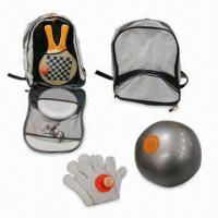 Buy cheap Beach Game Set, Includes Em-plastic Glove and Bag, PVC Ball Measures 23cm from wholesalers