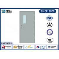 Anti Theft Fire Rated Exterior Doors / Reliable Steel 90 Minute Fire Door
