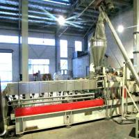 Buy cheap PE / PP Wood Composit Plastic Granulating Machine With Parallel Twin Screw Extruder from wholesalers