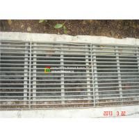 Buy cheap Flat / Round Bar Steel Grate Drain Cover For Port Drainage Channels from wholesalers