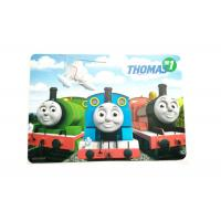 Buy cheap Cartoon Logo 3D Lenticular Printing Plastic Polypropylene Placemats from wholesalers