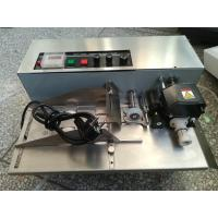 Solid-Ink Coder machine MY380 with stainless steel  with hot ink roller to print the date number or expiry number