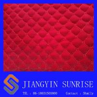 Buy cheap Tear Resistance Softness Auto Upholstery Leather Car Seat Cover in Red from wholesalers