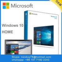 Buy cheap X64 Upgrade Windows 10 Home Oem To Pro 3.0 Dvd USB Flash Drive Boxed from wholesalers
