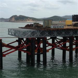 Buy cheap Emergency Use Military Pontoon Bridge Easy Assembly HD200 Type Bailey Steel Bridge product