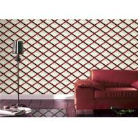 Buy cheap Living / Dining Room Geometric Style Wallpaper Home Decoration , Eco Friendly from wholesalers