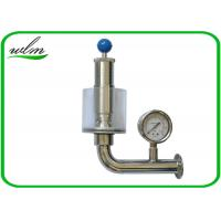 Buy cheap Adjustable Automatic Pressure Relief Valve / Sanitary Union Exhaust Pressure Valve from wholesalers