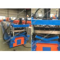 Buy cheap Large Capacity Cold Roll Forming Machine , V Shape Metal Roof Roll Forming Machine from wholesalers