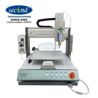 Buy cheap CE certificated high precision 3 Axis automatic glue dispensing machine for smart phone and 3D dimensional design from wholesalers
