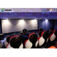 Buy cheap 3D Glasses 5D Movie Ticket 5D Movie Theater With 5D Motion Ride / Control System product