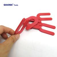 Buy cheap 100pcs 1/8 inch plastic horseshoe shim tile spacers from wholesalers