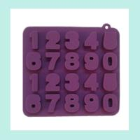 Buy cheap silicone chocolate baking molds ,silicone cake number molds product