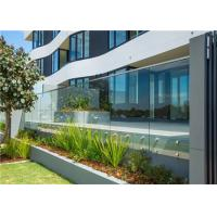 Buy cheap Residential Frameless Glass Railing , Frameless Glass Balcony Balustrade Systems from wholesalers