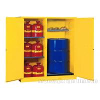 Buy cheap 115 Gallon Flammable Liquid Cabinet With Double Layer Fire Proof Sheet Steel from wholesalers