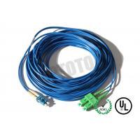 Buy cheap Dark Blue Jacket, LC-SC Connector Fiber Patch Cord, SM OS2 BI, 2 Fiber Zip 2mm OFNR product