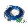Buy cheap Dark Blue Jacket , LC - SC Connector Fiber Patch Cord , SM OS2 BI , 2 Fiber Zip 2mm OFNR from wholesalers