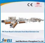 Buy cheap PVC crust foam board manufacturing machine/plastic extruder from wholesalers