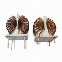 Buy cheap multi-layer toriodal choke coils with wide inductance range for filter inductor from wholesalers