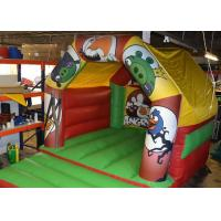 Buy cheap Angry Birds Commercial Small Blow Up Bounce Houses For Baby / Children from wholesalers