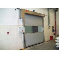 Buy cheap Cleaning Room High Speed PVC Curtain Industrial Roll Up Door Touching Panel from wholesalers