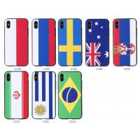 Buy cheap 2018 World Cup TPU PC Soft Custom Printed Country Flag Phone Case For iPhone 8 Plus product