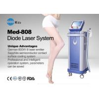 Buy cheap Germany 6 Bar Handpiece Laser Diode 808 Nm Hair Removal Machine , Laser Depilation Machine from wholesalers
