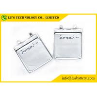 Buy cheap Non Rechargeable Ultra Slim Battery , Ultra Thin Lipo Battery CP263638 from wholesalers