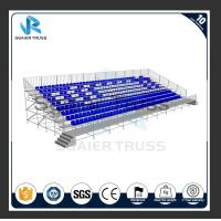 Buy cheap Hot Dip Galvanizing Q235B Bleacher Chairs , Outdoor Target Field Seating from wholesalers