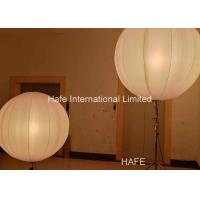 Buy cheap 1.6 M Inflatable Lighting Decoration , Led Inflatable Balls 2x650W Tungsten Lamp from wholesalers
