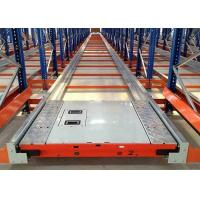 Buy cheap Automatic Density Shuttle Pallet Racking System Used In Foods / Beverage from wholesalers