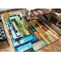 Buy cheap Water Absorbing Modern Living Room Carpet , Indoor Area Rugs Different Style from wholesalers