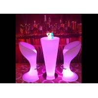 Buy cheap PE Luminous LED Table Furniture Low Power Consumption Night Club Decoration from wholesalers