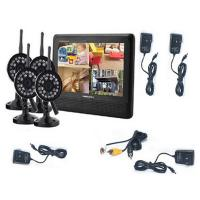 Buy cheap 7 inch 4CH digital ip wireless security camera with DVR system and video product