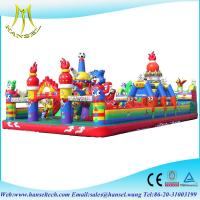 Buy cheap Hansel Hot selling commercial inflatable playground rentals cheap from wholesalers