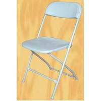 Buy cheap plastic foldable events chair Commercial White Plastic Folding Chairs Stackable Wedding party event chair from wholesalers